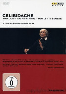 Celibidache: You Dont Do Anything - You Let It Evolve Movie