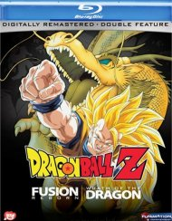 Dragon Ball Z: Fusion Reborn / Wrath Of The Dragon (Double Feature) Blu-ray