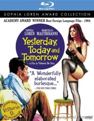 Yesterday, Today And Tomorrow Blu-ray