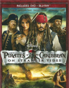 Pirates Of The Caribbean: On Stranger Tides (DVD + Blu-ray Combo) Blu-ray