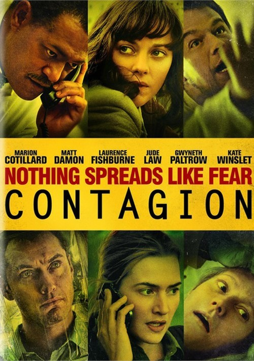 Contagion (DVD + Digital Copy) Movie