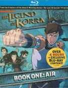 Legend Of Korra: Book One - Air Blu-ray