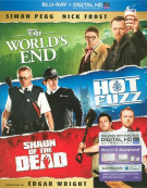 Worlds End, The / Hot Fuzz / Shaun Of The Dead (Triple Feature)  Blu-ray