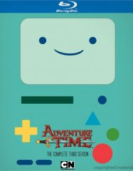 Adventure Time: The Complete Third Season Blu-ray