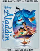 Aladdin: Diamond Edition (Blu-ray + DVD + Digital HD) Blu-ray