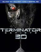 Terminator: Genisys (Blu-ray 3D + Blu-ray + DVD + UltraViolet) Blu-ray