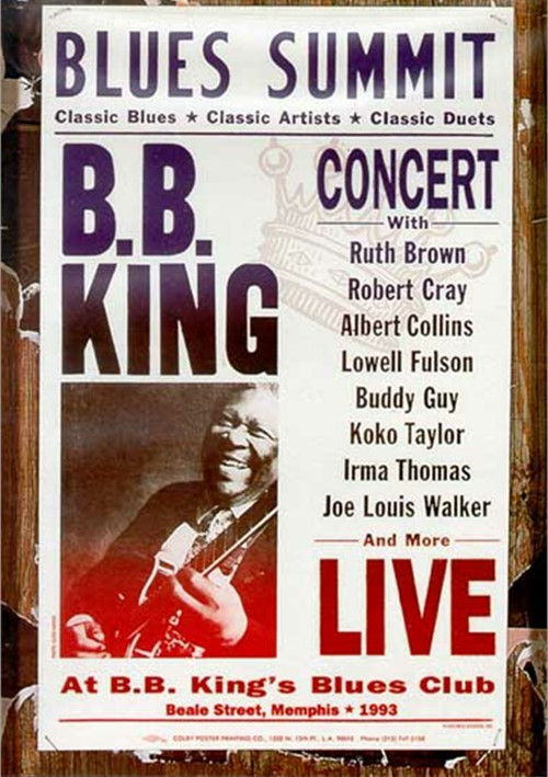 B.B. King: Blues Summit Concert Movie