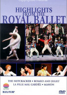Highlights From The Royal Ballet Movie