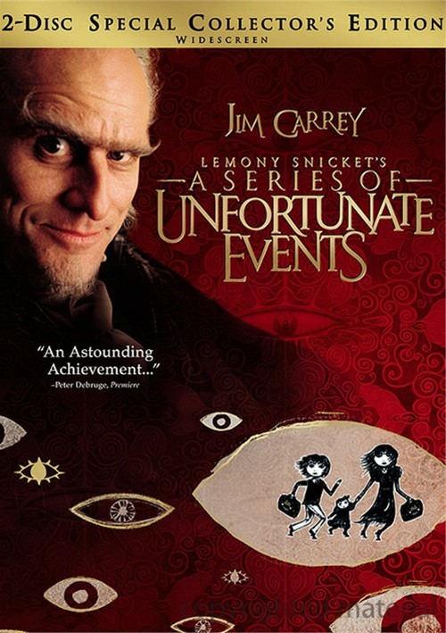 Lemony Snickets A Series Of Unfortunate Events: Special Collectors Edition (With Book) Movie