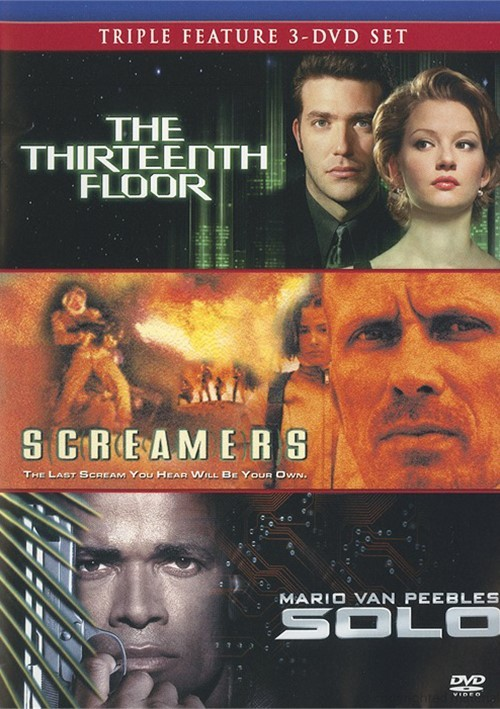 Thirteenth floor the screamers solo triple feature for 13 floor film