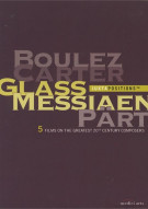 Juxtapositions: Boulez, Carter, Glass, Messiaen, Part Movie