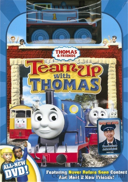 Thomas & Friends: Team Up With Thomas (With Toy Train) Movie