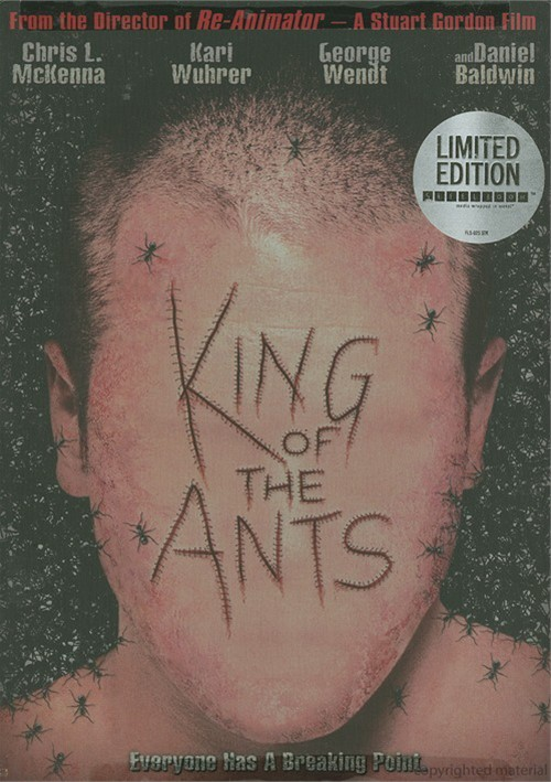 King Of The Ants (Steelbook) Movie