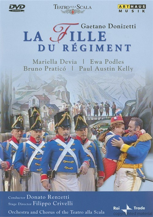 Gaetano Donizetti: La Fille Du Regiment Movie