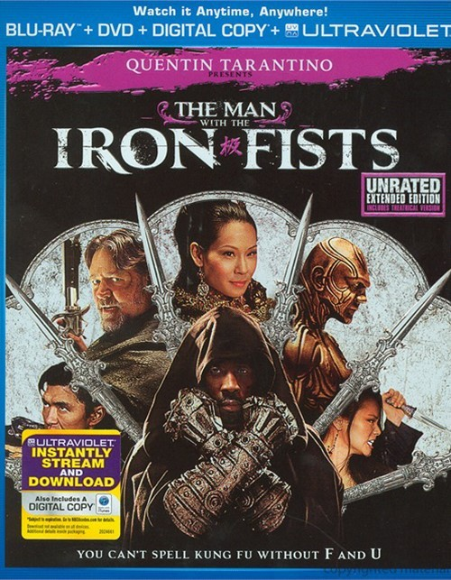 Man With The Iron Fists, The (Blu-ray + DVD + Digital Copy + UltraViolet) Blu-ray