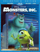 Monsters, Inc. (Blu-ray + DVD Combo) Blu-ray