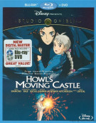 Howls Moving Castle (Blu-ray + DVD Combo) Blu-ray
