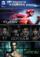 DC Comics Starter Pack: (Flash/Arrow/Gotham Seasons One) Movie