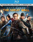 Great Wall, The (4K Ultra HD + Blu-ray + UltraViolet) Blu-ray