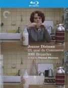 Jeanne Dielman, 23 Commerce Quay, 1080 Brussels Blu-ray