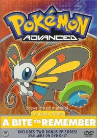 Pokemon Advanced: Volume 3 - A Bite To Remember Movie