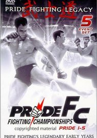 Pride FC: Pride Fighting Legacy - Volume 1 Movie