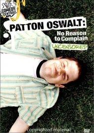 Patton Oswalt: No Reason To Complain Movie