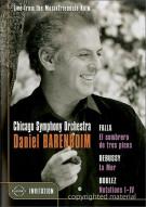 Falla / Debussy / Boulez: Chicago Symphony Orchestra & Daniel Barenboim Movie