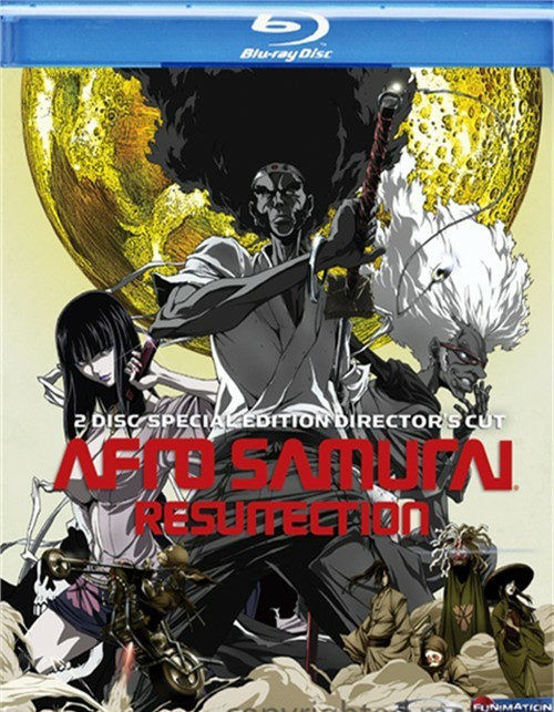 Afro Samurai: Resurrection - Special Edition Directors Cut Blu-ray