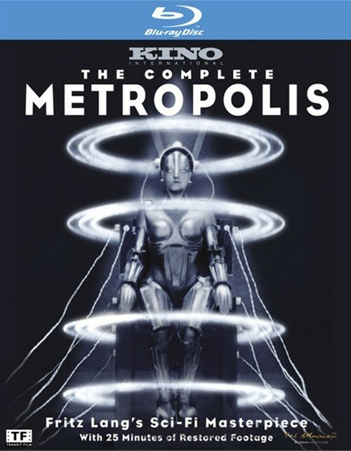 Complete Metropolis, The Blu-ray