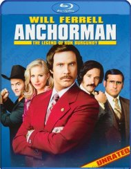 Anchorman: The Legend Of Ron Burgundy - Unrated, Uncut & Uncalled For! Blu-ray