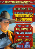 Lost Treasures Of The West: Thundering Thompson / Lone Bandit / Lone Goes West (Triple Feature) Movie