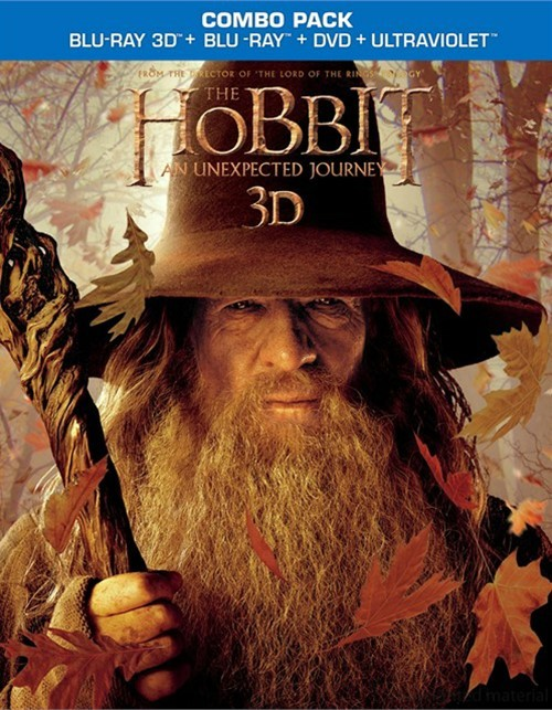 Hobbit, The: An Unexpected Journey 3D (Blu-ray 3D + Blu-ray + DVD + UltraViolet) Blu-ray