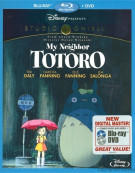 My Neighbor Totoro (Blu-ray + DVD Combo) Blu-ray