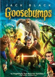 Goosebumps (DVD + UltraViolet) Movie