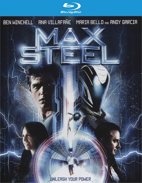 Max Steel (Blu-ray + DVD + UltraViolet) Blu-ray