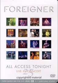 Foreigner/25: All Access Tonight Movie