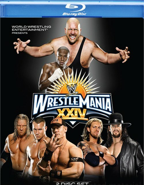 WWE: Wrestlemania XXIV Blu-ray