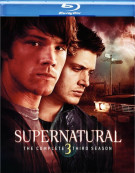 Supernatural: The Complete Third Season Blu-ray