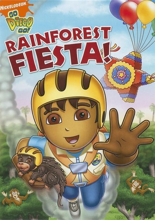 go diego go rainforest fiesta dvd 2009 dvd empire