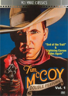 Tim McCoy Western Double Feature: Volume 1 Movie