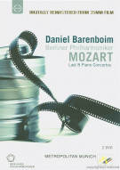 Daniel Barenboim: Mozarts Last 8 Piano Concertos Movie