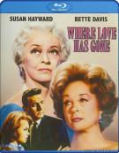 Where Love Has Gone Blu-ray