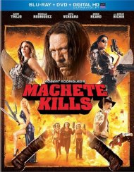 Machete Kills (Blu-ray + DVD + UltraViolet) Blu-ray