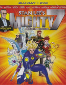 Stan Lees Mighty 7: Beginnings (Blu-ray + DVD Combo) Blu-ray