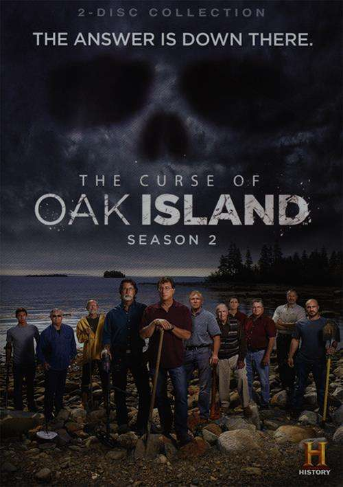 curse of oak island the season two dvd 2014 dvd empire