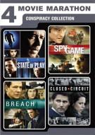 4-Movie Marathon: Conspiracy Collection Movie