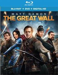 Great Wall, The (Blu-ray + DVD + UltraViolet) Blu-ray