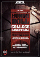 Honor Roll: College Basketball - Volume 1 Movie