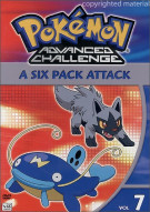 Pokemon Advanced Challenge: Six Pack Attack - Volume 7 Movie